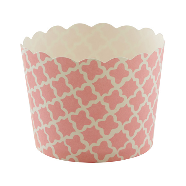 Small Baking Cups Clover Pink Pkg/25