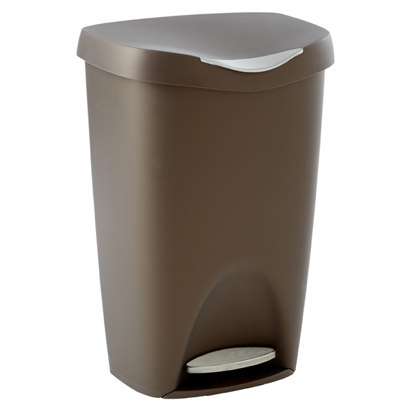 Umbra® 13 gal. Brim Can Bronze
