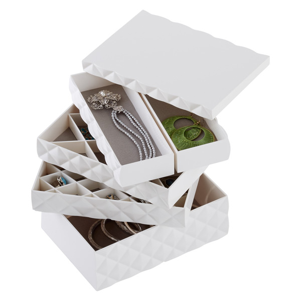 Stacking Accessories Case White