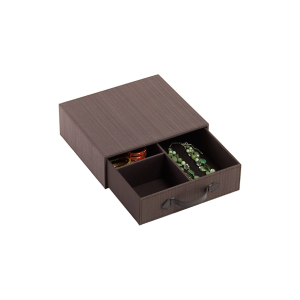 Parker 3-Section Drawer Espresso