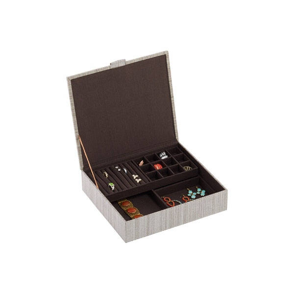 Parker Jewelry Box Cappuccino
