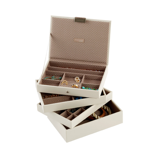 Vanilla Classic Stackers™ Premium Jewelry Storage