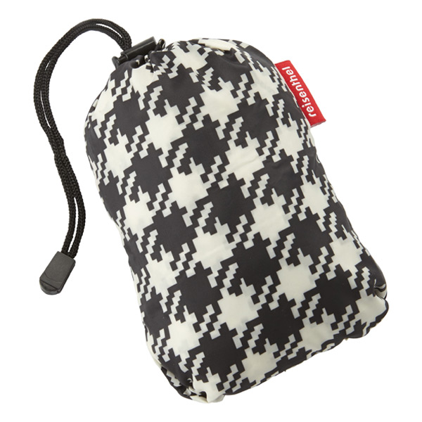Pocket Poncho Houndstooth