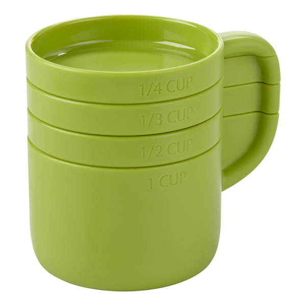 Umbra® Cuppa Measuring Cups Green Set of 4