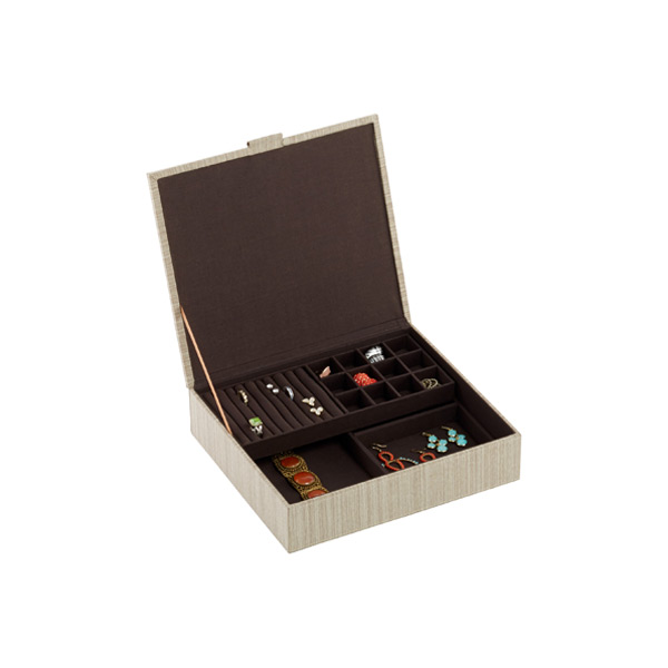 Parker Jewelry Box Latte