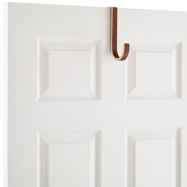 Rin Overdoor Hanger Brown