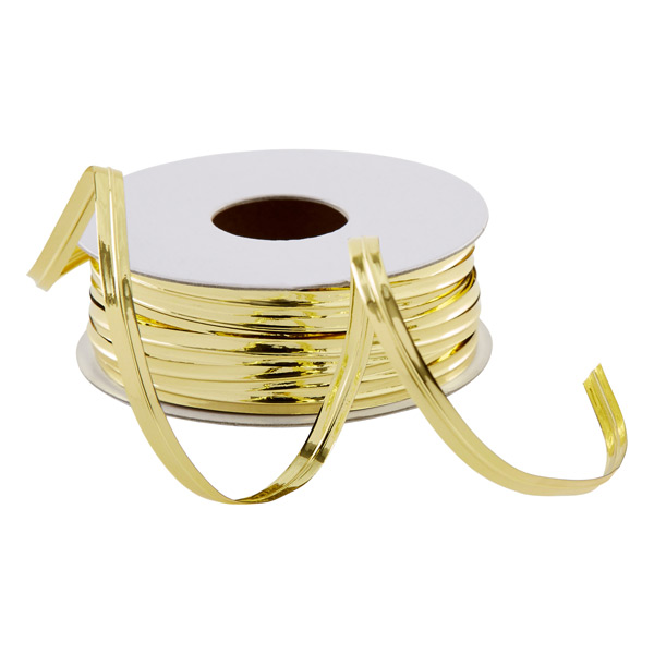 Wire Ribbon - Gold Metallic Wire Ribbon | The Container Store
