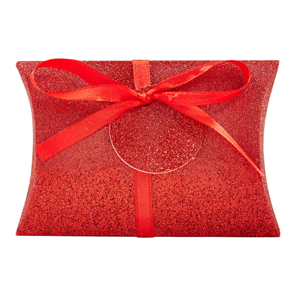 Glitter Red Gift Card Pouch