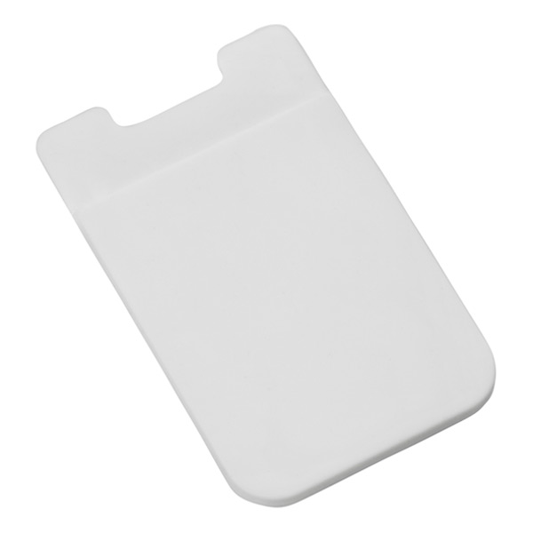 Silicone Suction Pocket White