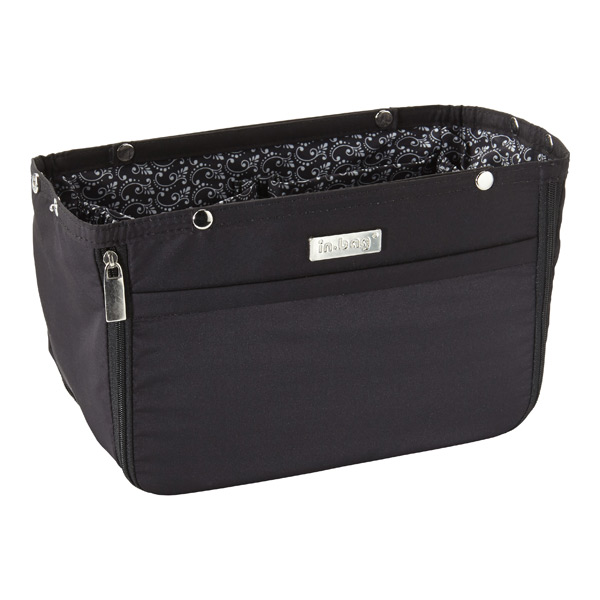 in.bag® Handbag Organizer Black/Paisley