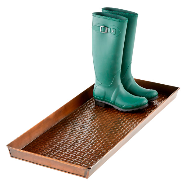 Long Boot Tray Copper