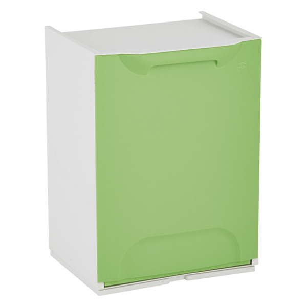 Drop-Front Recycle Bin Green