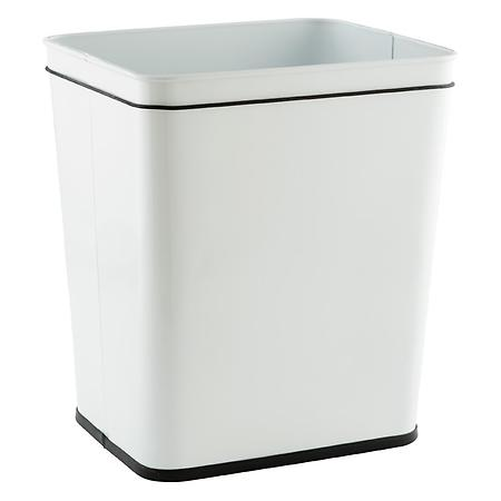 Polder 7 gal. Rectangular Undercounter Can White