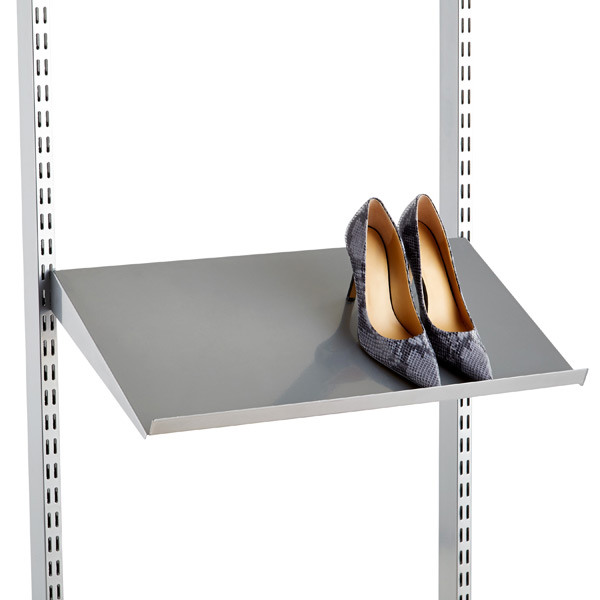 Solid Metal Shelves ...