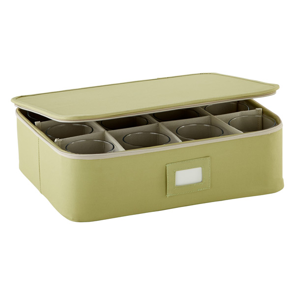 Cup/Mug Storage Case Green