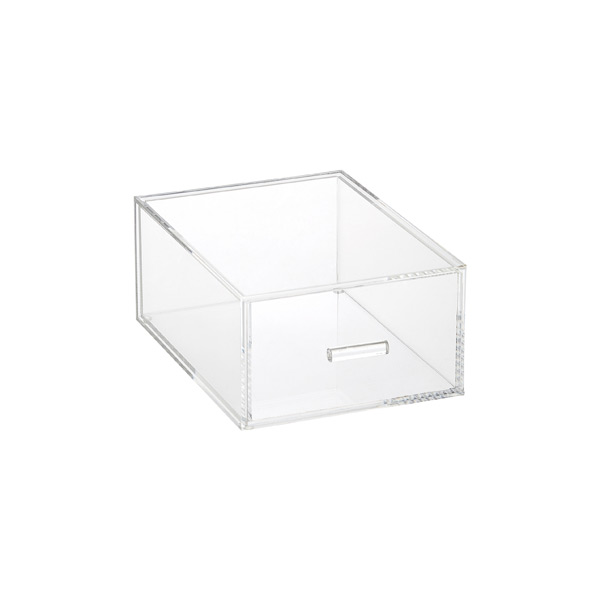 Luxe Acrylic Modular Drawer Clear