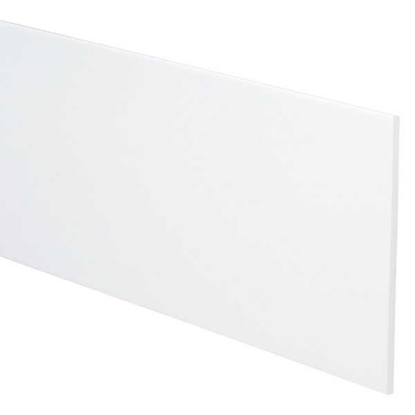"4"" Custom Drawer Organizer Strips White Pkg/4"