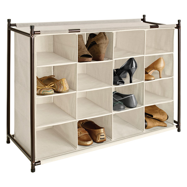 Wood Shoe Cubbies