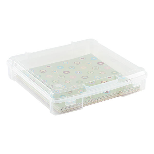 Iris 12 x 12 Paper Storage Case The Container Store