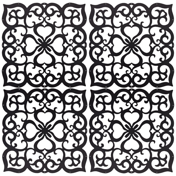 Home Decor Screens folding screens folding screen with lacquered white finish and mirrored panels Filigree Decor Screen Panels