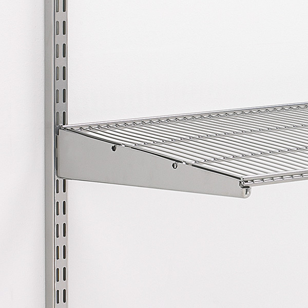 Wire Shelving 20 Deep   Platinum Elfa Ventilated Wire Shelves The Container Store