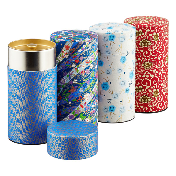 Washi Paper Tea Tin