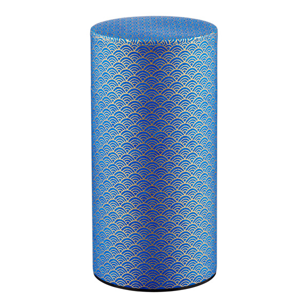 20 oz. Washi Paper Tea Tin Guilded Waves