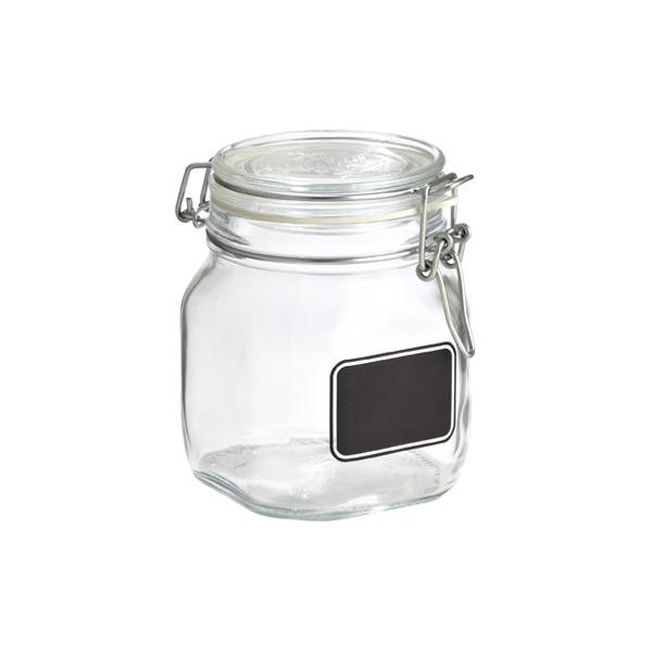 Hermetic Jar W Chalk Label 750 Ml