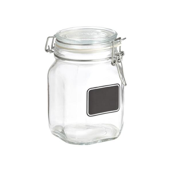 hermetic jar w chalk label ml
