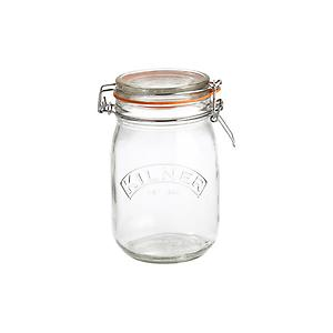 34 oz. Round Hermetic Canning Jar 1 ltr.