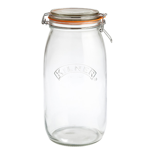 round hermetic storage jar 3 ltr