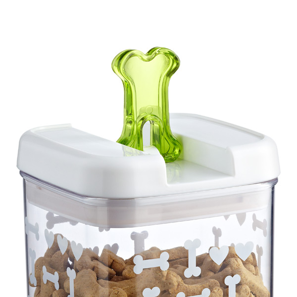 good dog treat canister - Dog Food Containers