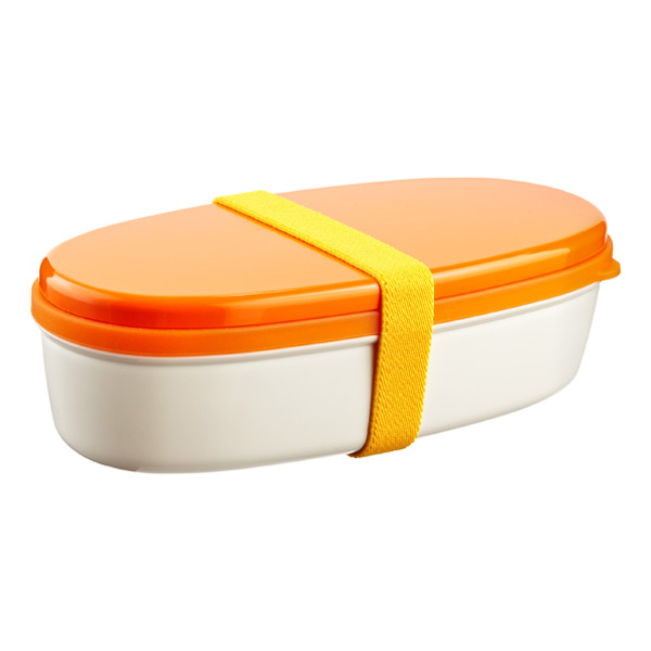 18 oz. Bento Lunch Set Orange Lid
