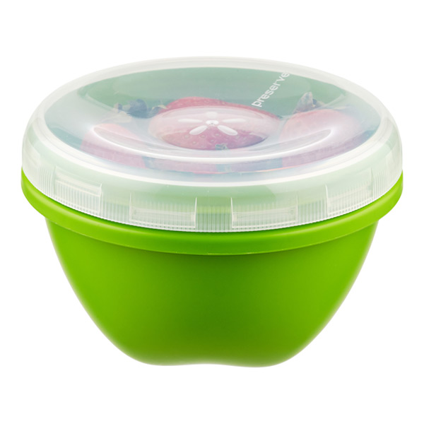25.5 oz. Preserve® Round Container Green