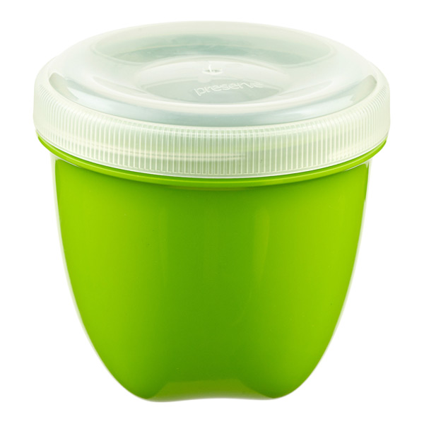 8 oz. Preserve® Snack Container Green