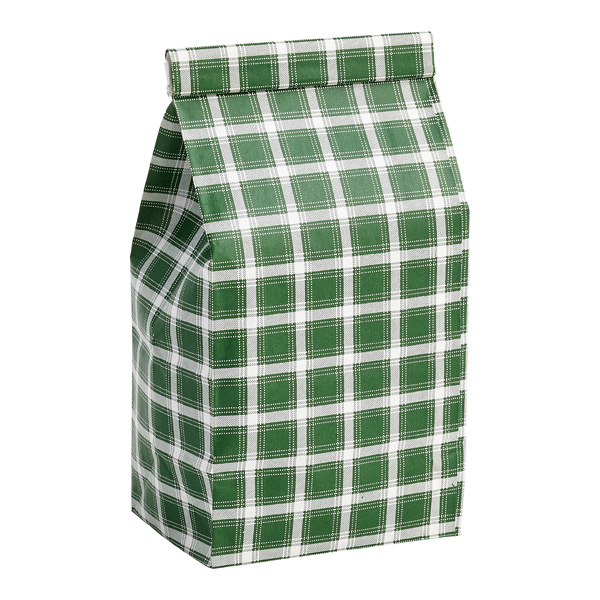 1/2 lb. Coffee Bag Green Plaid