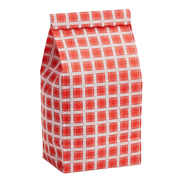1/2 lb. Coffee Bag Red Plaid