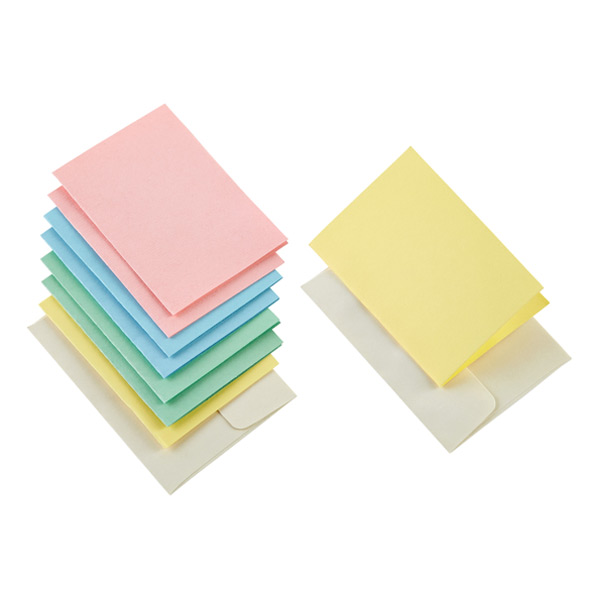 Gift Enclosures w/Envelopes Pastels Pkg/8