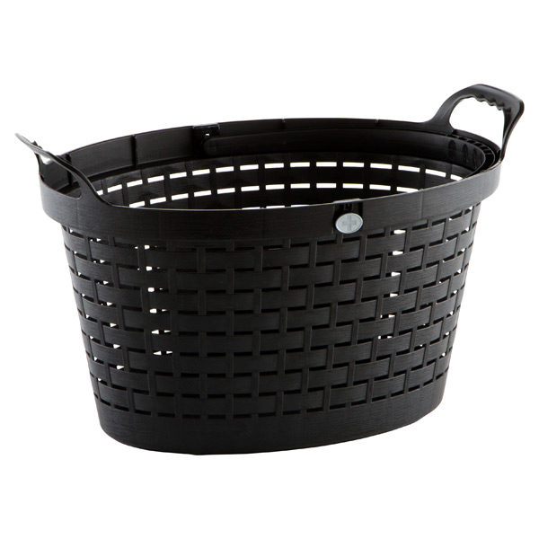 Shopping Basket Black