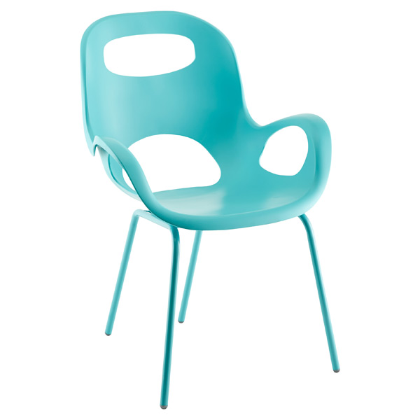 Umbra® Oh! Chair Surf Blue