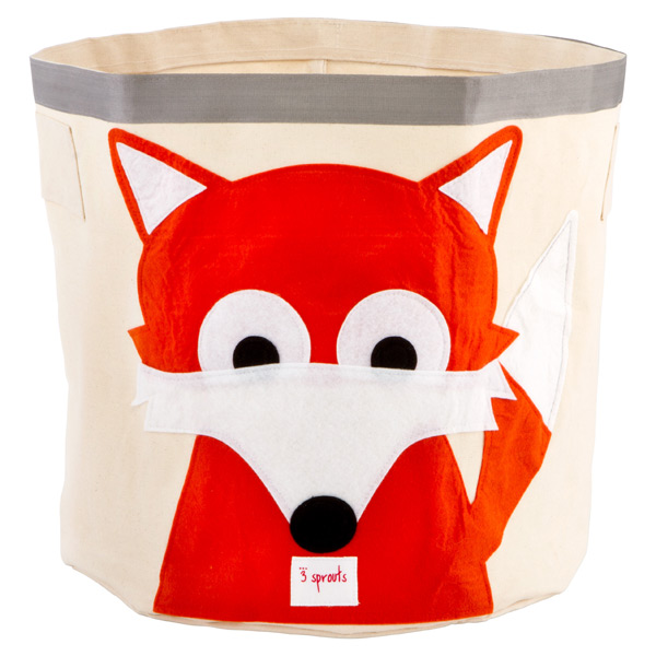 Superieur Fox Canvas Bin By 3 Sprouts