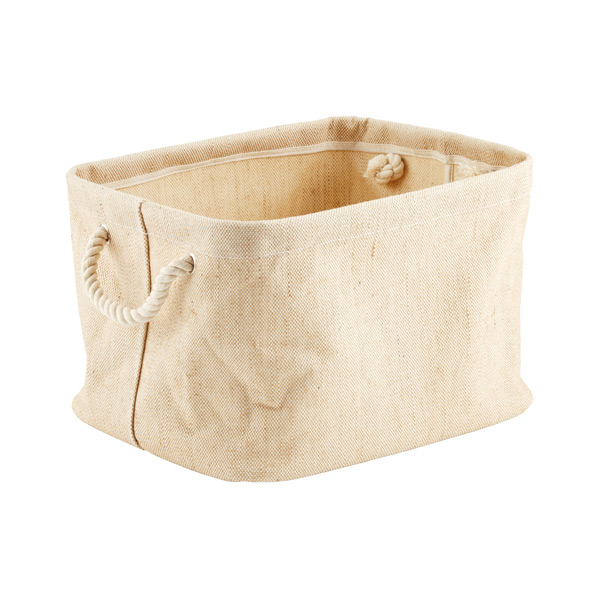 Medium Jute Bin with Rope Handle