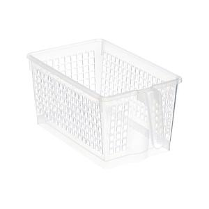 Small Handled Storage Basket Clear