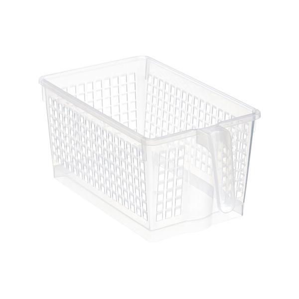 Merveilleux ... Small Handled Storage Basket Clear
