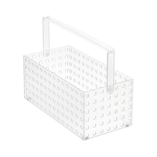 "Like-it® Bricks 11"" Medium Tall Tote Translucent"