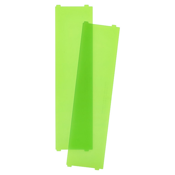 Like-it® Bricks Wide Short Divider Green Pkg/2