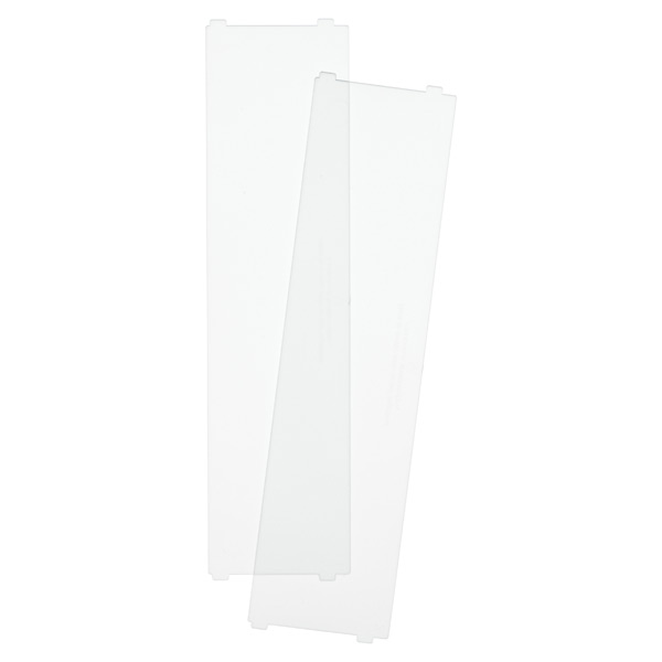 Like-it® Bricks Wide Short Divider Translucent Pkg/2