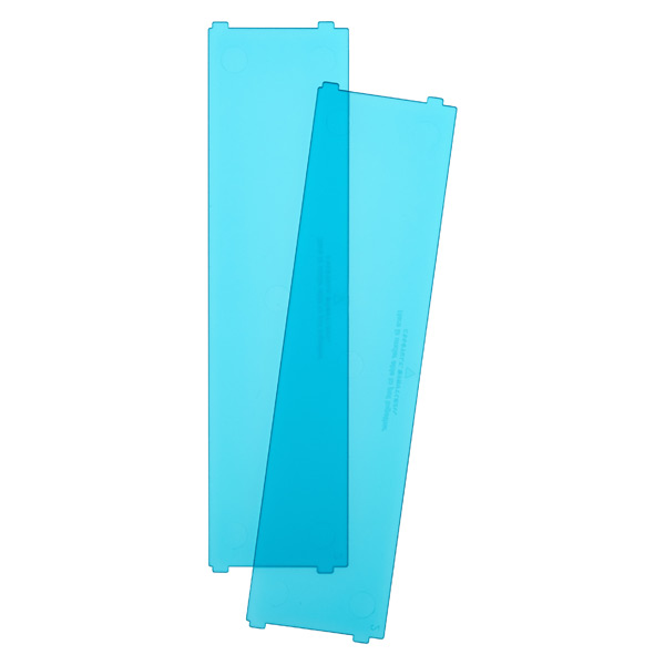 Like-it® Bricks Wide Short Divider Blue Pkg/2