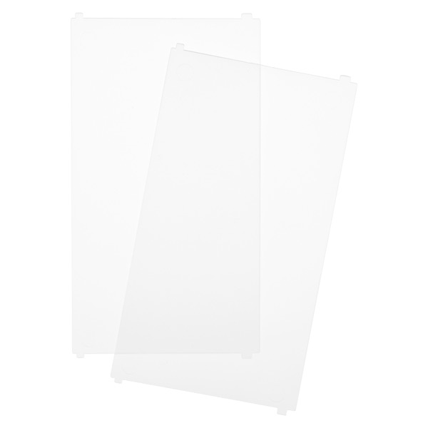 Like-it® Bricks Wide Tall Divider Translucent Pkg/2