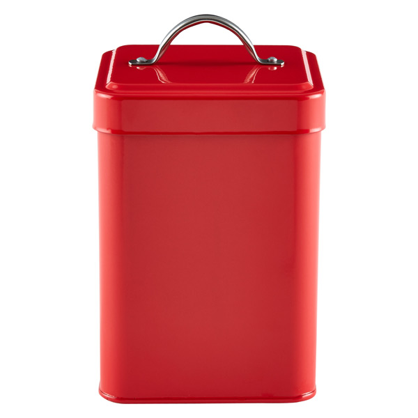 Tea Canister Red
